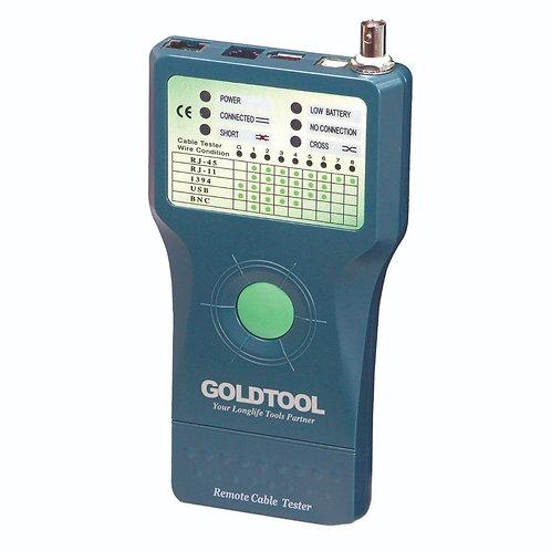 Remote Cable Tester (RJ45/RJ11/USB/1394/BNC)