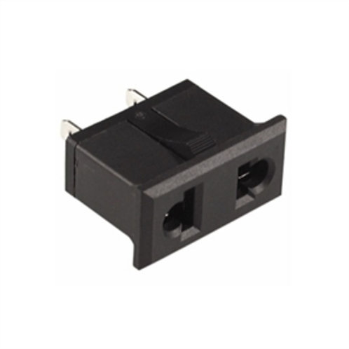 Panel Mount AC Socket