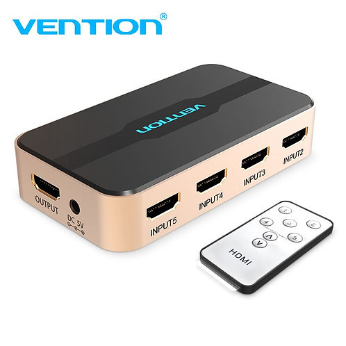 HDMI Switcher 5 In 1 Out