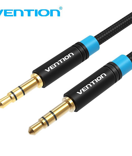 3.5mm Cotton Braided Audio Cable