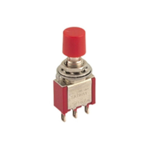 3P SPDT Miniature Pushbutton Switch (ON-MOM)