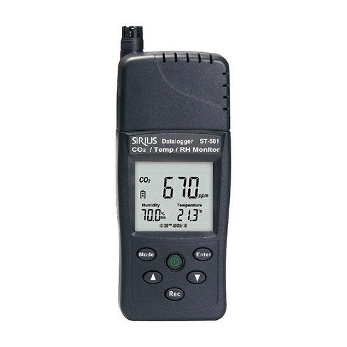 CO2/Temperature/RH Meter