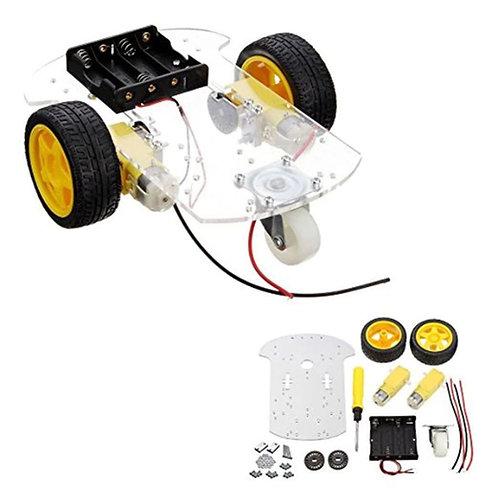 2WD Single Layer Smart Car Chassis