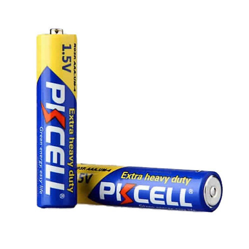 PKCell 1.5V AAA/R03P Extra Heavy Duty Battery (4PCS/Shrink)