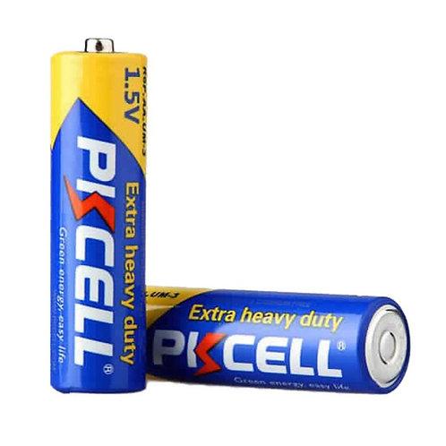 PKCell 1.5V AA/R6P Extra Heavy Duty Battery (4PCS/Shrink)