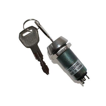 3 Terminals Keylock Switch (1 Key)