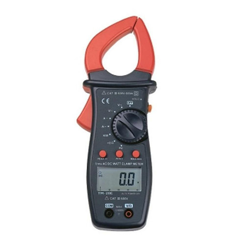 600A True RMS Autoranging AC/DC WATT Clamp Meter