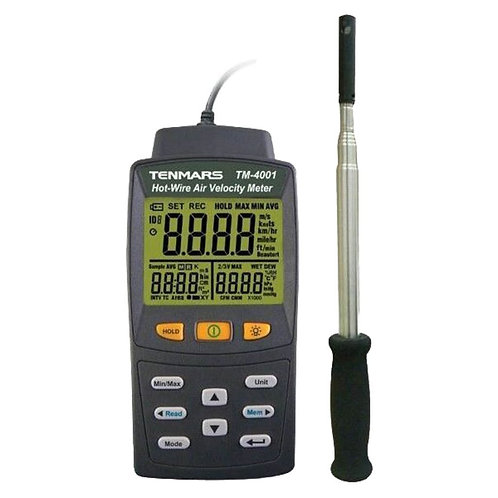Hot Wire Air Velocity Meter