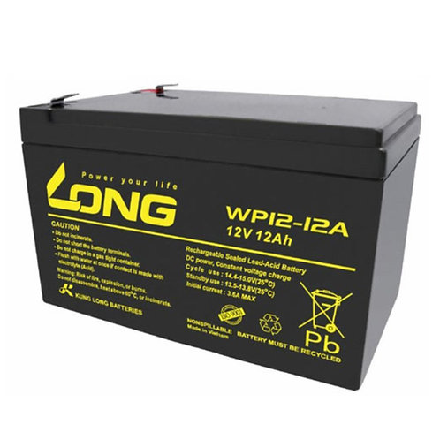 12V/12Ah VRLA Battery (151L X 98W X 93H mm, F2 Terminal)