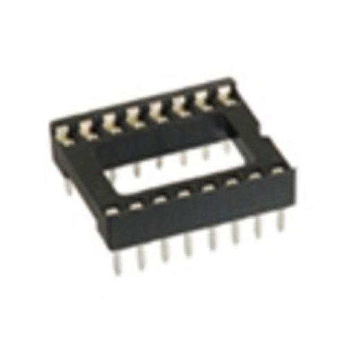 16P IC Socket (DIP Solder Type)