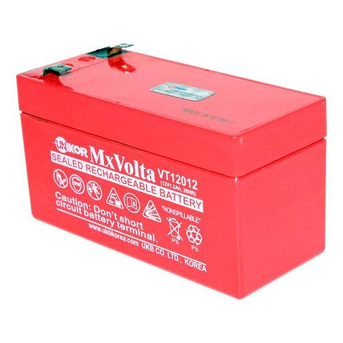 12V/1.2Ah VRLA Battery (97L X 43W X 52H mm F1 Terminal)