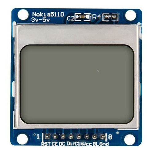Nokia 5110 84x48 LCD Shield Module Blue Backlight