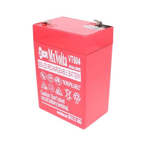 6V/4Ah VRLA Battery (70L X 47W X 101H mm F1 Terminal)