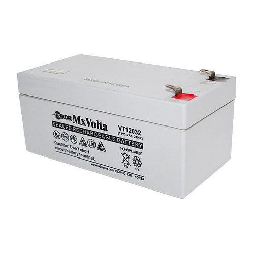 12V/3.2Ah VRLA Battery (134L X 67W X 60H mm F2 Terminal)