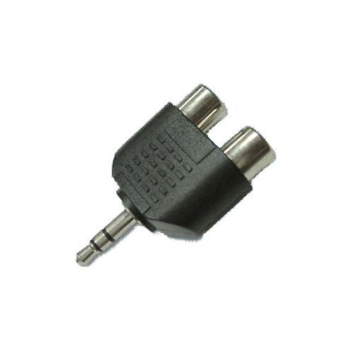 3.5mm Stereo Plug to Double RCA Jack (Gold Plated)