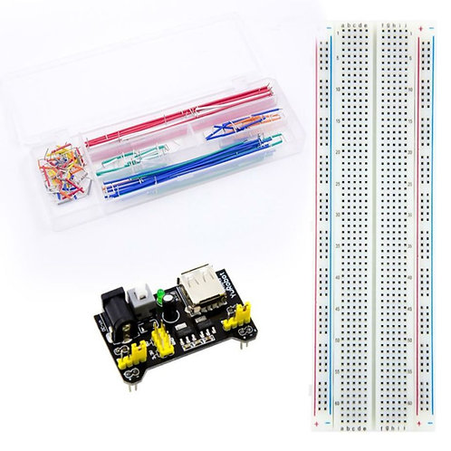 830 Breadboard+Power Supply Module+140 Jumper Wire+AE026
