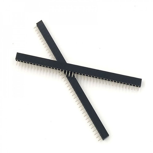 1x40pin Female Header 2.54mm (1PCS)