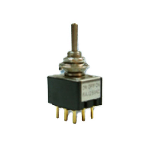 9P Miniature Toggle Switch (3PDT ON-OFF-ON)