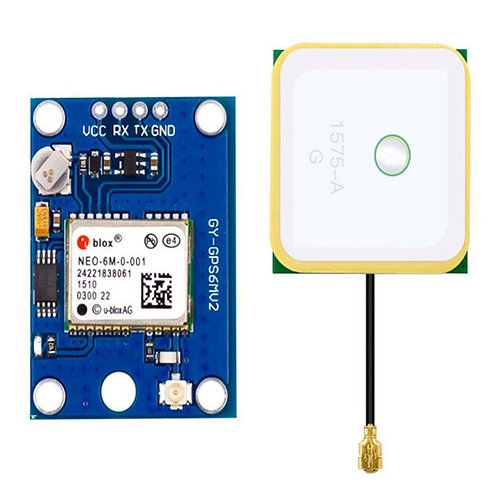 UBLOX NEO-6M GPS Module with EEPROM for MWC/AeroQuad GY-NEO6MV2