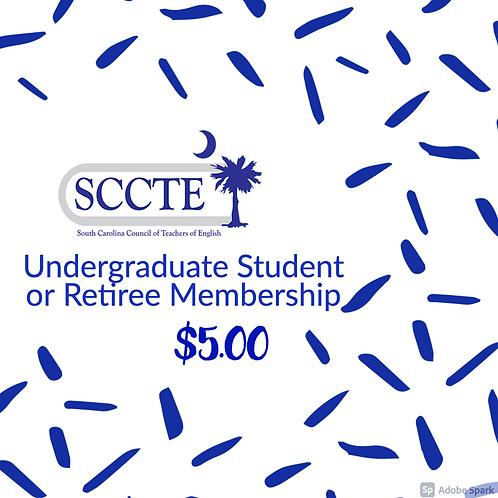 Undergraduate Student or Retiree Membership