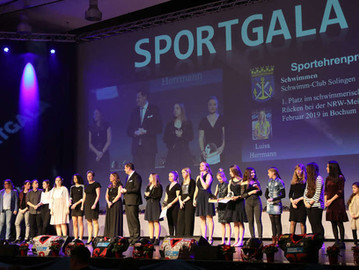 Sport-Gala: FZS mit zahlreichen Erhungen