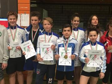 Degenteams erkämpfen drei Medaillen beim NRW Jugend-Cup