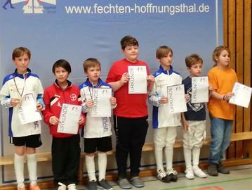 11 Medaillen beim 3. Internationalen Hoffnungsthaler Jugendcup