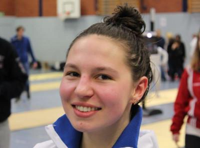 Degenfechterin Lisa Marie Löhr bei der Junioren-EM in Foggia