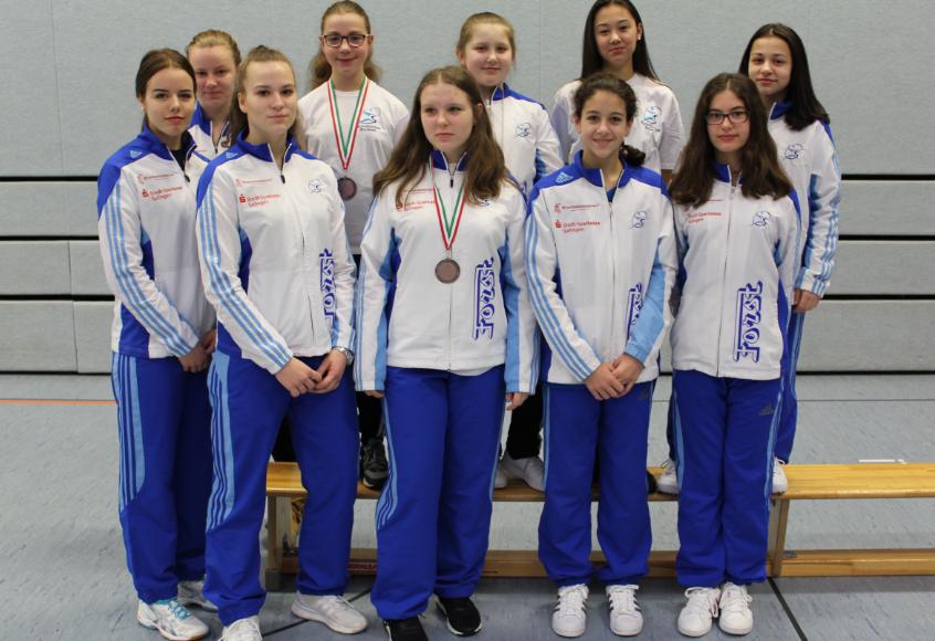 Fechten-6480-NRW-Landesmeisterschaften-Medaillen-weiblich