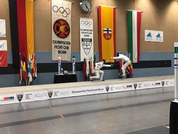 U17 - European Circuit in Bonn: Kassian Meier bester Deutscher.