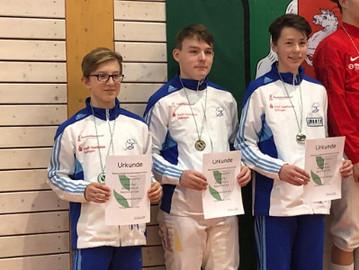 Fechter holen 4 Medaillen bei rheinischen Mannschafts-Meisterschaften
