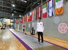 Kassian Meier startete zum ersten Mal bei der U17-EM