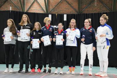 Degenfechten: Kim Treudt-Gösser holt Gold, Bronze für Brenda Kolbinger
