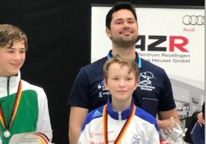 Degenfechter Jakob Stange holt Titel bei den Deutschen B-Jugend Meisterschaften