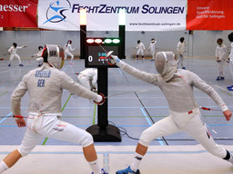 U20-Säbelfechter Eric Seefeld für die Europa-Meisterschaften qualifiziert