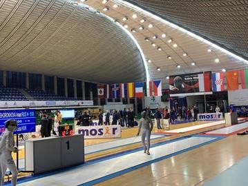 Eric Seefeld überzeugt beim FIE WORLD CUP in Sosnowiec