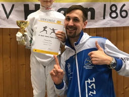 Degenfechter holen sieben Medaillen beim Ruhr-Volme-Pokal