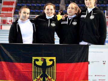 Medaillenplätze für Degenfechterinnen bei der Junioren-WM außer Reichweite