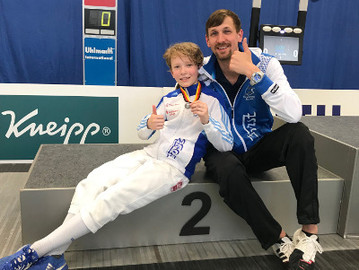 Degenfechter mit zweimal Silber bei Deutschen B-Jugend Meisterschaften