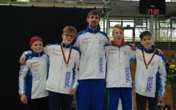 B-Jugend-Fechter erringen DM-Gold und -Bronze mit Nordrhein-Teams