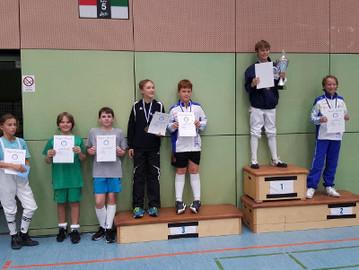 Degenfechter mit Top-Platzierungen beim Lajos Csire-Turnier