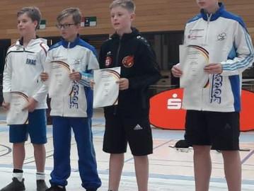 Team-Silber für Säbelfechter bei der B-Jugend DM in Nürnberg