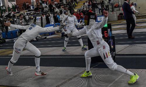 Degenfechterinnen starten beim Junioren-Welt-Cup in Udine
