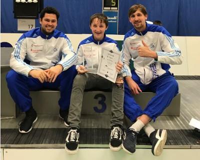 A-Jugend Degenfechter liefern in Heidenheim gute Ergebnisse ab