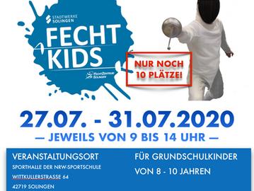 SommerCamp für Fecht-Kids