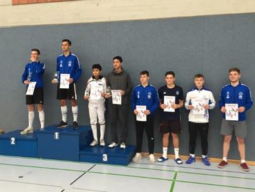 Säbel-Junioren starteten beim DFB Qualifikationsturnier in Dortmund