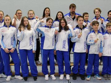 16 Medaillen: FechtZentrum erfolgreichster Verein in NRW