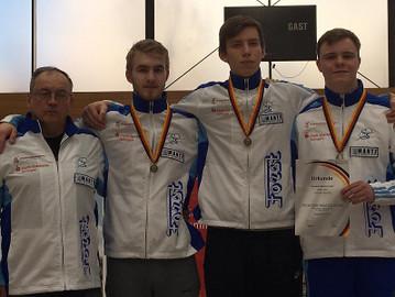 Säbelfechter-Team holt Bronze bei Deutschen Meisterschaften