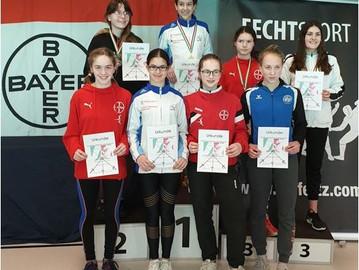 10 Medaillen für Degenfechter bei NRW-Meisterschaften