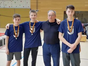 Team-Silber für Säbel B-Jugend bei Deutschen Meisterschaften